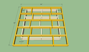 Build A Wooden Platform Bed by Platform Bed Frame Plans Howtospecialist How To Build Step By