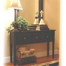 Black Entryway Table Shelves Black Entryway Nobailout Org