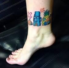 spongebob underpants tattoo by lee jongmoon inked ink inkedmag