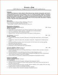 Government Sample Resume Curriculum Pharmacy Curriculum Vitae Vitae Resume Sampleshtml