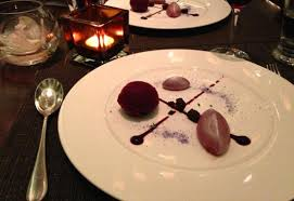 cuisine cassis cassis violet pave fresh blackberries sorbet picture of the