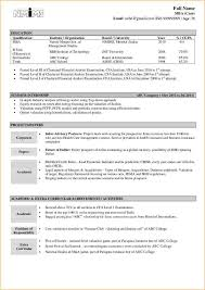 resume format for freshers free download pdf a good cv format for freshers business proposal templated