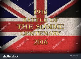German British Flag Grunge Style World War 1 Battle Stock Illustration 286136750