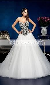 corset wedding exquisite sweetheart corset black and white wedding dress lace up