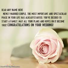 newly married quotes congratulations wedding quotes images with name