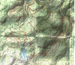 Michaux State Forest Map by Eagles Mere Pa Mtbr Com