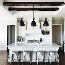 Restoration Hardware Kitchen Lighting Restoration Hardware Benson Pendant Remy Backless Stool