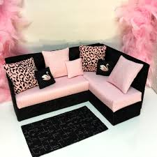 sofa mã nster pinkrosemh sofa möbel bed furniture für puppe 30 cm