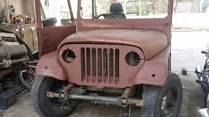 jonga jeep mahindra 540 army jeep restoration youtube