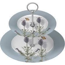 royal botanical gardens kew lavender two tier cake stand louis potts