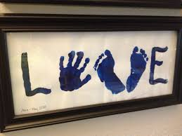 Cute Homemade Mothers Day Gifts by Handprint And Footprint Art Toddler Love Happy Mother U0027s Day