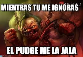 Meme Dota - mientras tu me ignoras dota meme on memegen