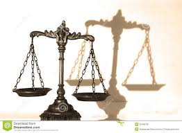 decorative scales of justice stock photo image 26466728