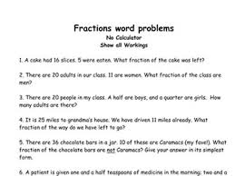 maths word problems primary gcse national 5 level by biggles1230