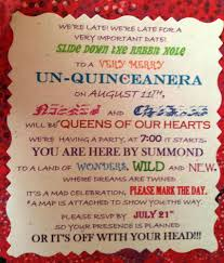mad hatter alice in wonderland quinceañera party ideas
