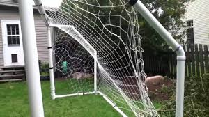 soccer goal made out of pvc pipe youtube