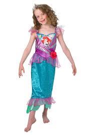 Mermaid Costumes Child Little Mermaid Costumes Disney Ariel Costume Shimmer Dress Escapade Uk