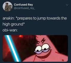 Meme High - prepares to jump towards the high ground meme xyz