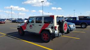 jurassic park car movie spotted this jk at the store the other day the original yj from