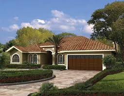 one story mediterranean house plans this one story mediterranean style waterfront home has a charming