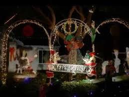 Santee Christmas Lights Starlight Circle Santee Youtube
