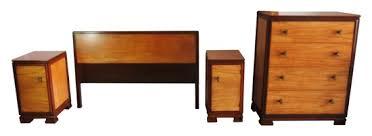 donald deskey for amodec american art deco bedroom set modernism