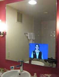 Hotel Bathroom Mirrors by Tv In Bathroom Mirror Picture Of Flamingo Las Vegas Hotel