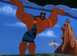 Atlas Help Hercules And His Labors
