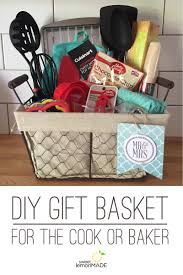 Baking Gift Basket Do It Yourself Gift Basket Idea Sweet Lemon Made