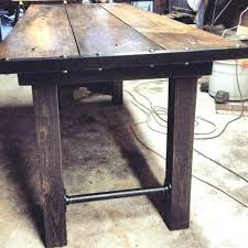 industrial glass dining table dining table dogtown industrial loft cast iron glass dining table