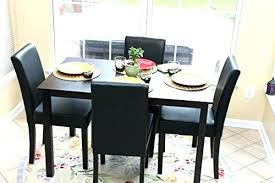4 person table set 4 person table and chairs cad75 com