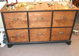 Black File Cabinets 4 Drawer File Cabinet Wood Richfielduniversity Us