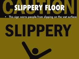 Slippery Floor Warning Labels By Cbb5103