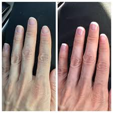 before and after shellac french manicure yelp