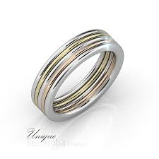 unique mens wedding band multi color unique men wedding band