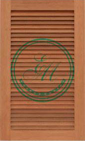 Louvered Cabinet Door Louvered Cabinet Doors Custom Wood Cabinet Louvered Doors