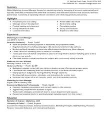 account manager resume exles marketing account manager resume dental resume exles