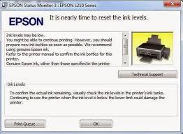 resetter epson l210 terbaru begini cara reset epson l110 l210 l300 l355 l350 dengan software