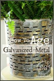 best 25 how to rust galvanized metal ideas on pinterest aging