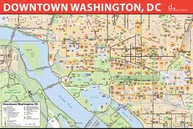 Washington travel keywords images Washington dc map jpg