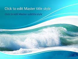 Water Powerpoint Templates by Free Water Ppt Template