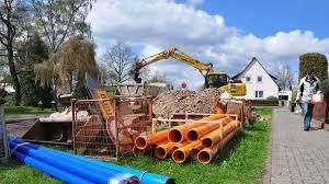 Bad Arolsen Viehmarkt Bauarbeiten In Wichtiger Innerstädtischer Straße In Bad Arolsen