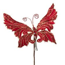 Glitter Butterfly Christmas Decorations 62 best beautiful butterfly christmas images on pinterest