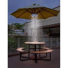 Patio Umbrella Lighting Sorbus Patio Umbrella Light Reviews Wayfair