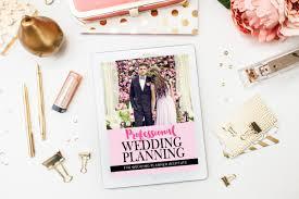 online wedding planner certificate in professional wedding planning the wedding planner