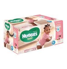 huggies gold disposable nappies huggies gold girl size 4 mega box was