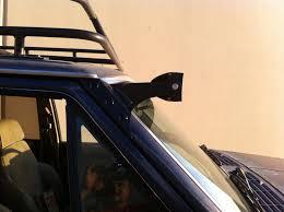 Led Light Bar Brackets by Xj Led Light Bar Bracket Kit 84 01 Jeep Xj Omc Offroad Hired Gun