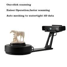 scanner de bureau rapide he3d haute précision bureau 3d scanner einscan soi un clic la