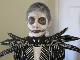 Jack Skeleton Costume Homemade Jack Skellington Halloween Costume For A Boy Jack