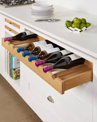 Kitchen Drawer Design Our Recently Launched Pull Out Oak Wine Storage Drawer Ideas